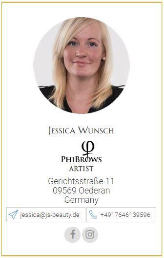 Phibrows Artist Jessica Wünsch